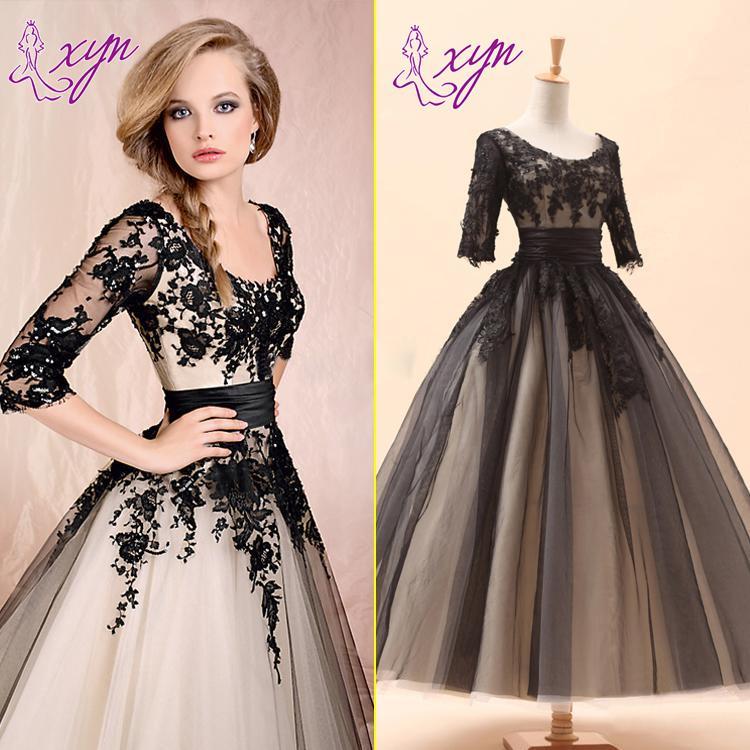 vintage style dresses 2015 new vintage style short wedding dresses ankle length scoop neck half yukhvwj