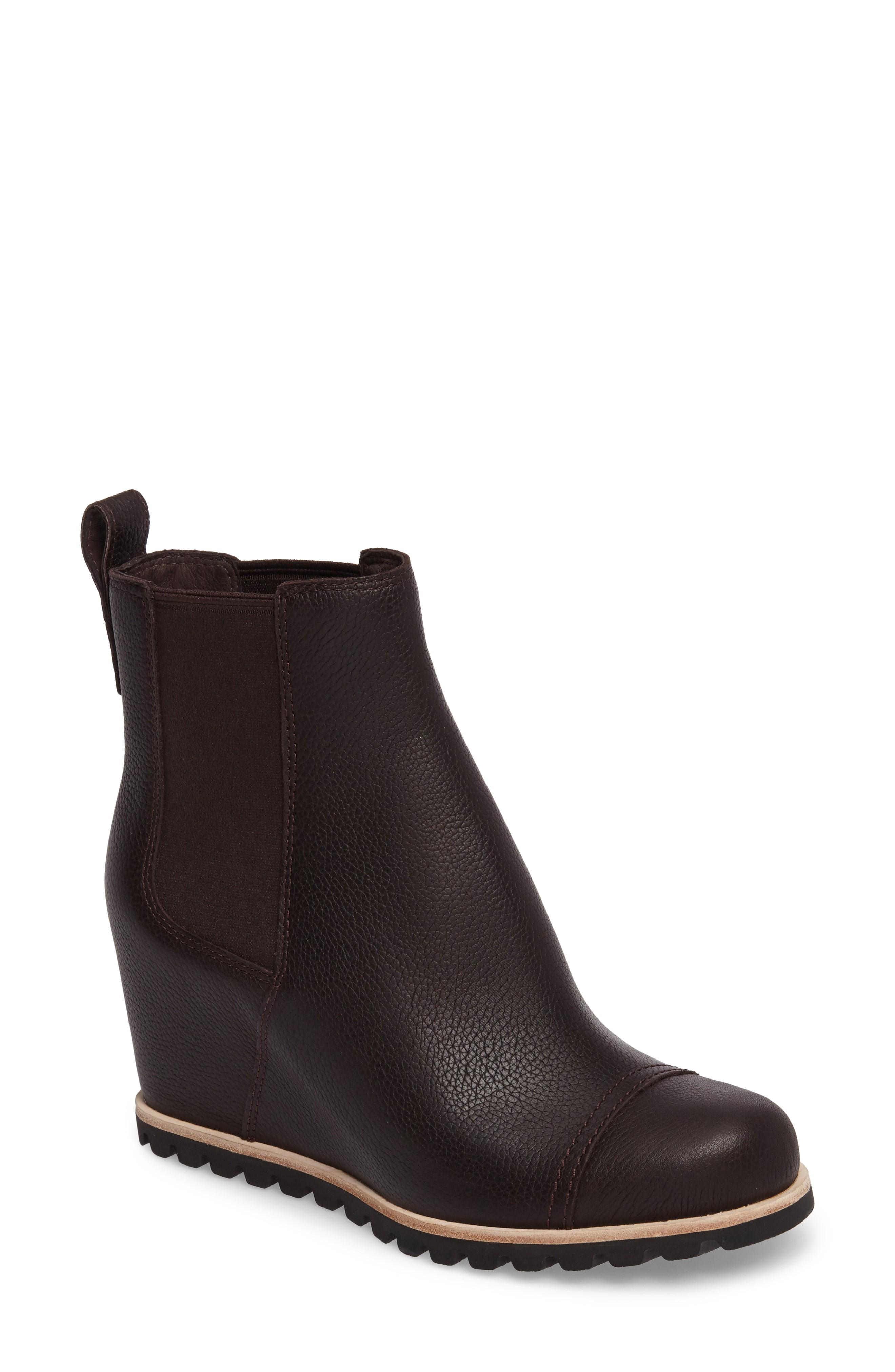 wedge boots ugg® pax waterproof wedge boot (women)   nordstrom tglderr