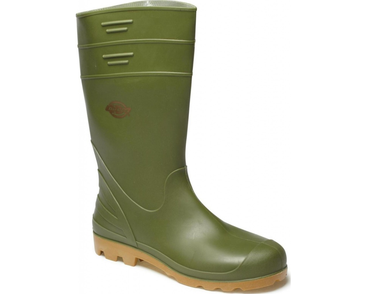 wellington boots dickies pennine wellington boot (sizes 3-12) - green vycnxzq