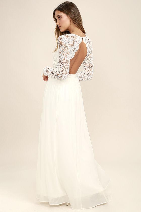 white lace maxi dress awaken my love white long sleeve lace maxi dress 1 pqawyux