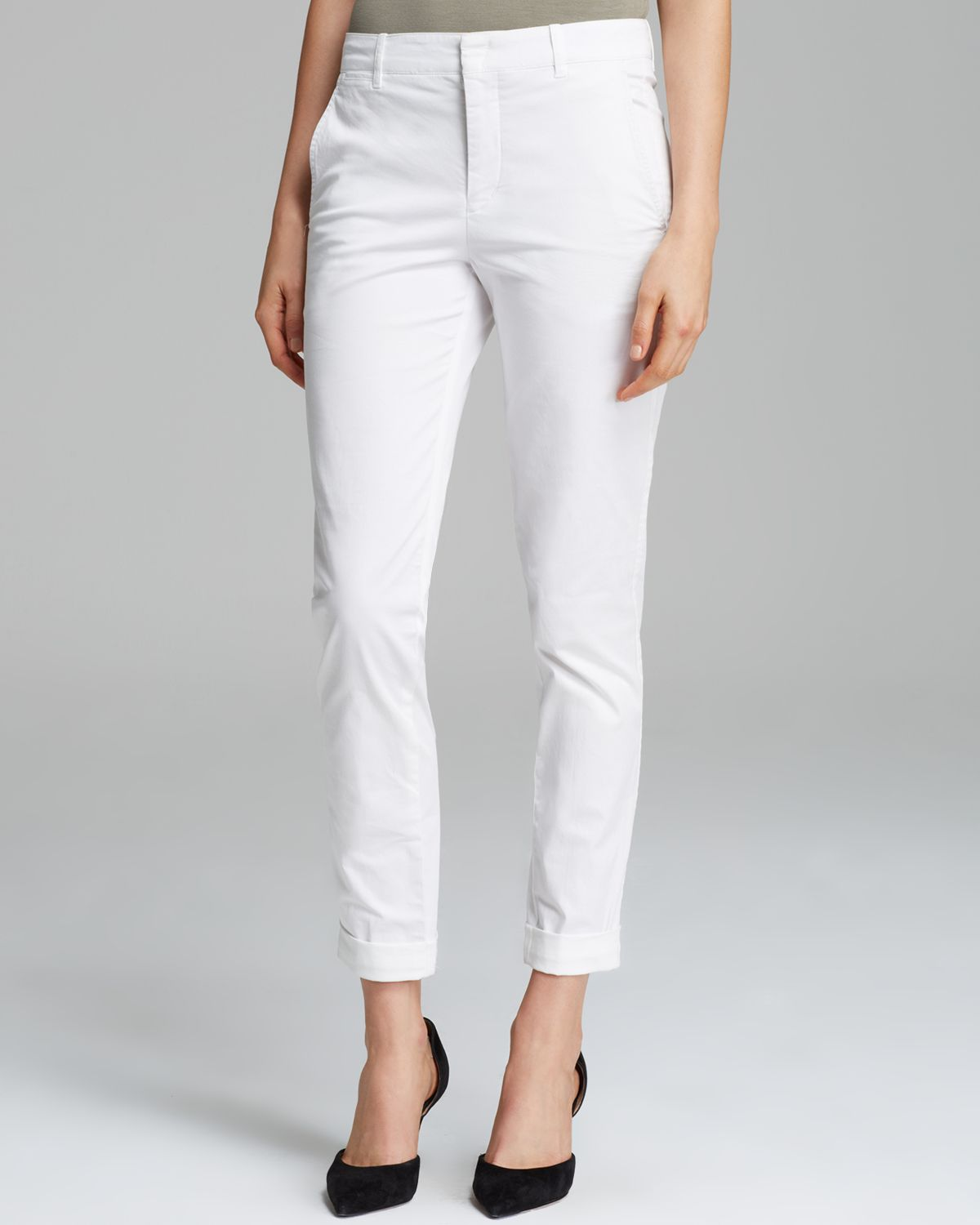 White pants- look fabulous and confident