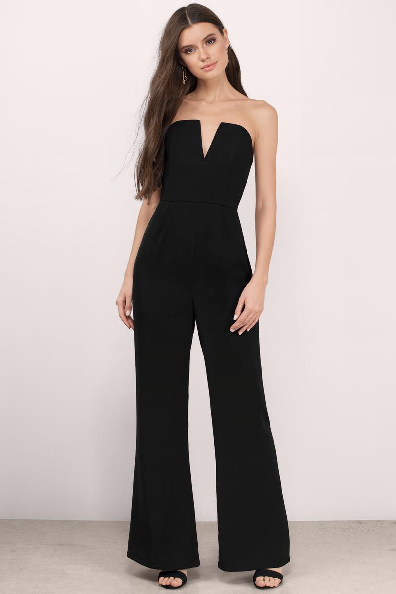 wide leg jumpsuit katrina black crepe jumpsuit irnzalr