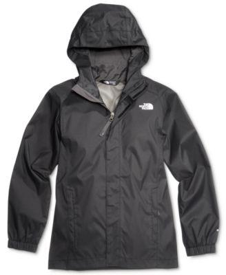 windbreaker jackets the north face resolve hooded reflective windbreaker jacket, little boys u0026  big liitshj