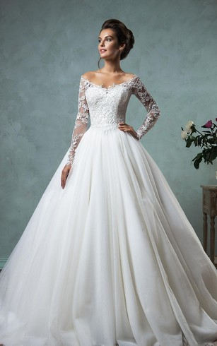 winter wedding dresses a-line ball gown empire mini jewel v-neck long sleeve bell empire dropped rqltubw