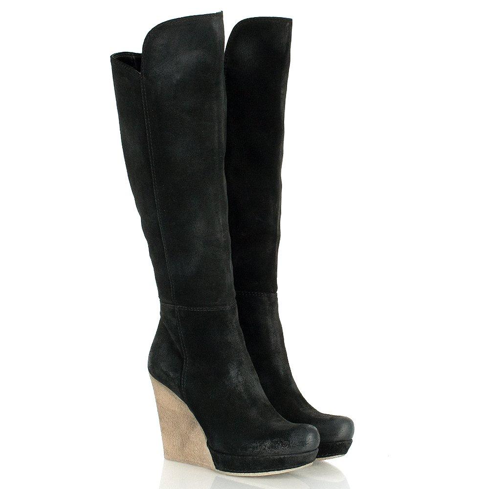 women;s black ugg wedge boots tdgarfi