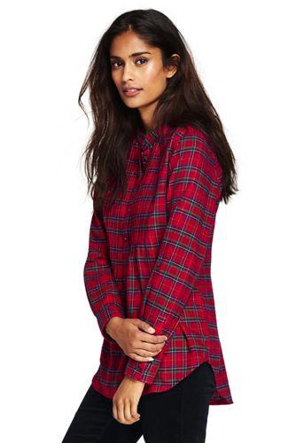 womens flannel shirt womenu0027s flannel pleated tunic ipsvosr