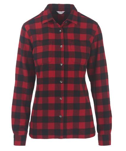 womens flannel shirt womenu0027s pemberton flannel shirt - 100% cotton nhurftd