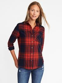 womens flannel shirts classic flannel shirt for women ugtqpoe