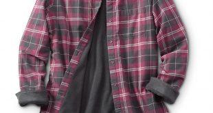 womens flannel shirts guide gear womenu0027s fleece-lined flannel shirt, wine hjjyzdn
