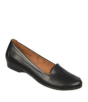 womens loafers naturalizer saban leather slip-ons uxusnge
