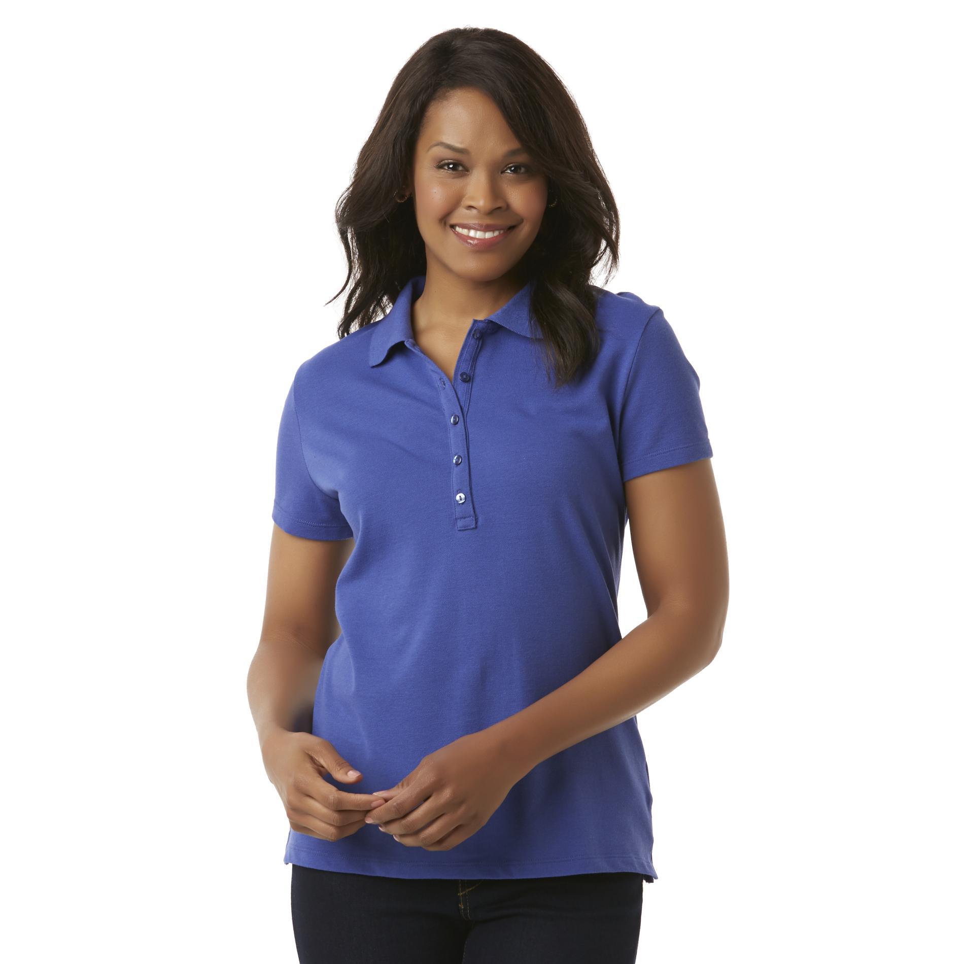 womens polo shirts basic editions womenu0027s polo shirt bxjjzcr