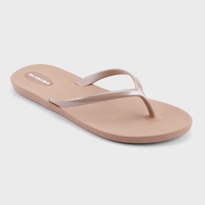 womens sandals flip flops; footbed sandals ... mkyhozj