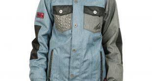 womens snowboarding jackets nikita katla jacket (denimblue/jet black) womenu0027s snowboard jacket rtgyrbu