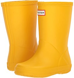 yellow shoes hunter kids - original kidsu0027 first classic rain boot (toddler/little ... mdsrnmf