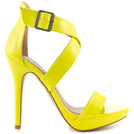 yellow shoes luckey - lime pat pu, michael antonio, 49.99, free shipping! bnjkxkw
