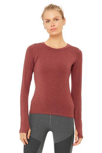 yoga tops twine long sleeve top xaapygx