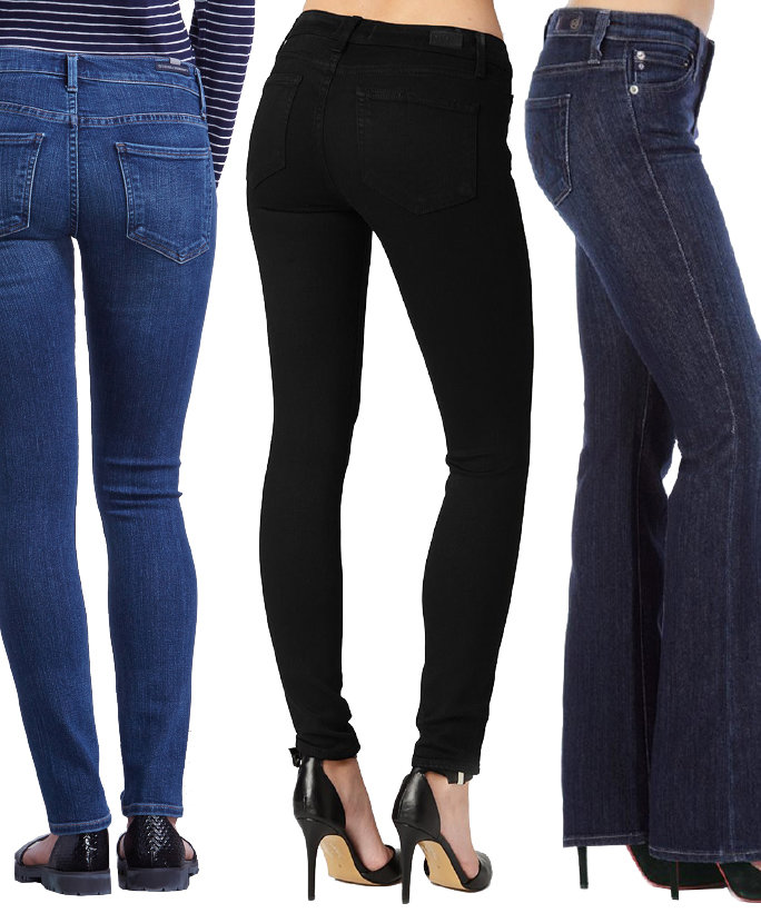 Try out the new petite jeans