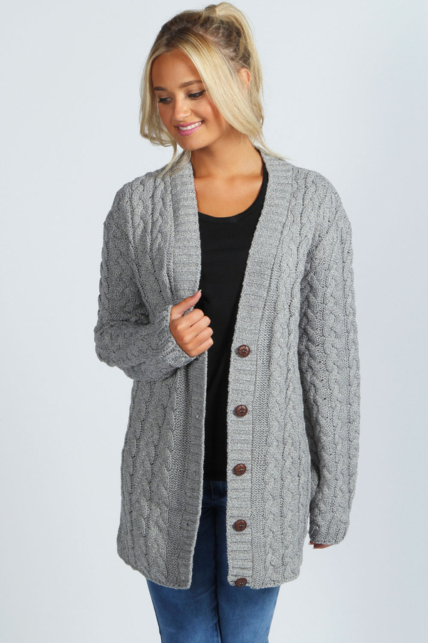 ... boohoo lucy cable knit cardigan agsspro