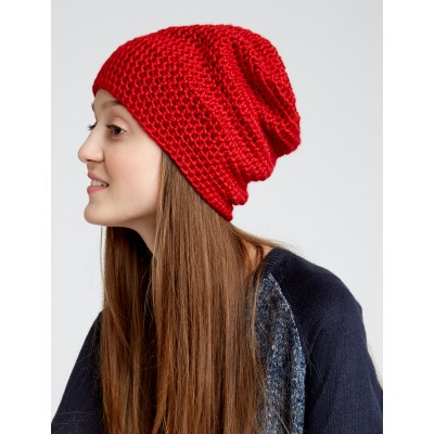 ... free slouchy beanie knitting pattern ... yroudaa