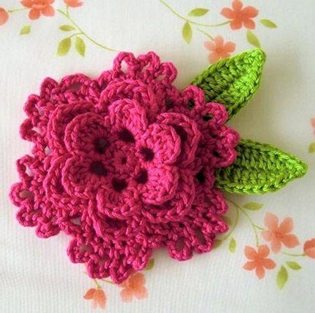 10 adorable free crochet flower patterns ikxbodc