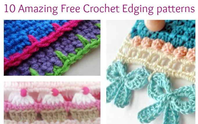 10 amazing free crochet edging patterns you will love! - simply collectible kyyqypv