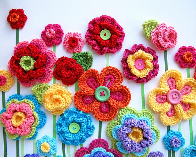 10 beautiful crochet flowers to make | skip to my lou mgagpbb