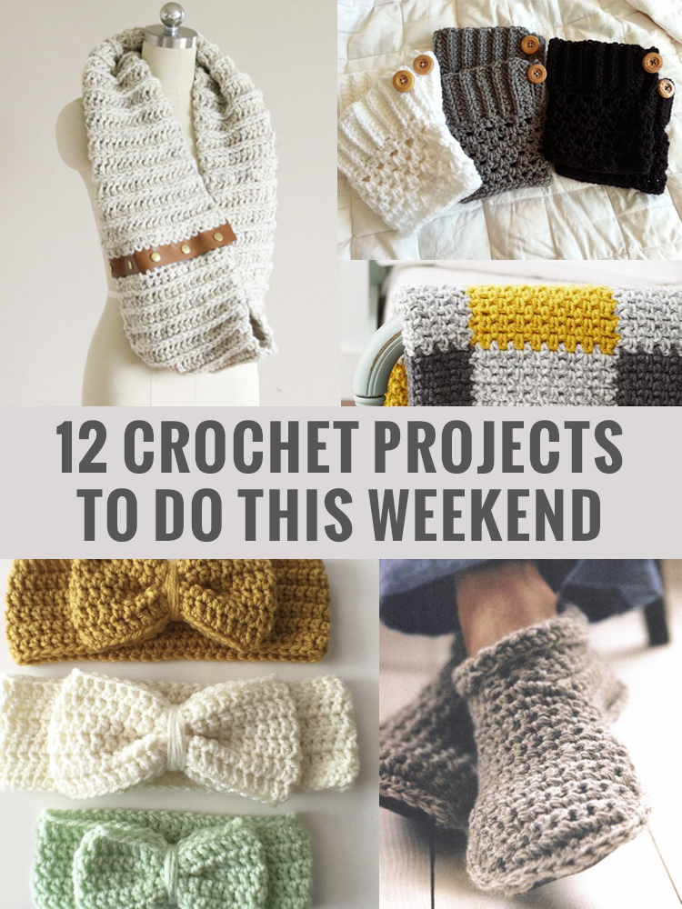 12 crochet projects to do this weekend topknjm