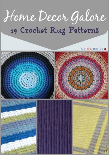 26 crochet rug patterns bizomef