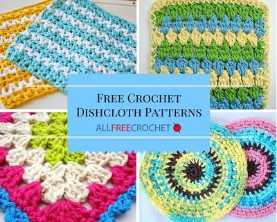 51 free crochet dishcloth patterns qlkwwag