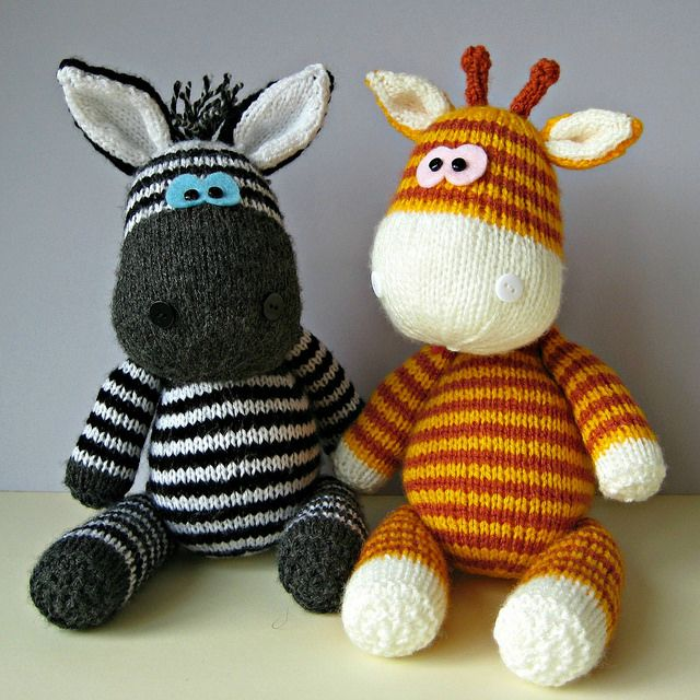 Beautiful Knitted Toys
