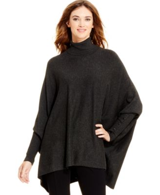 alfani turtleneck poncho sweater, only at macyu0027s tulnxao