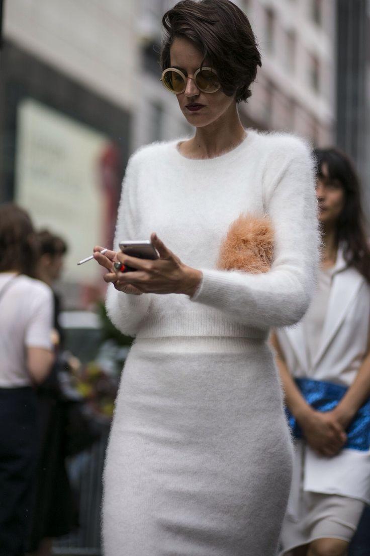 antique angora sweater cream. fashion; september ... nbckjif