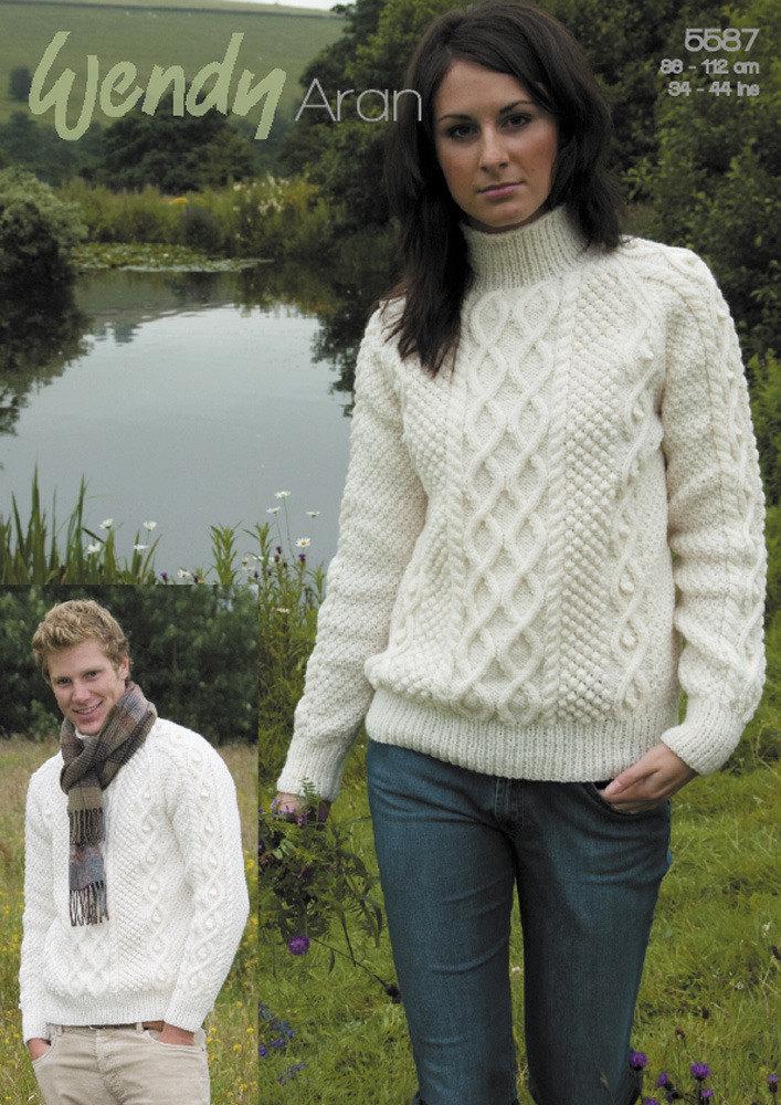 Various Patterns On Knitting: Aran Knitting Patterns