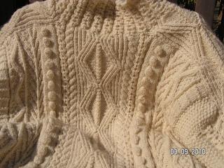 aran knitting patterns pattern 2: traditional fishing shirt ... peutwry