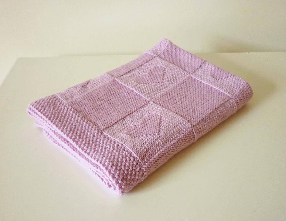 Baby Blanket Knitting Patterns baby blanket charlotte knitting pattern by le petit mouton   knitting  patterns tvoatqy
