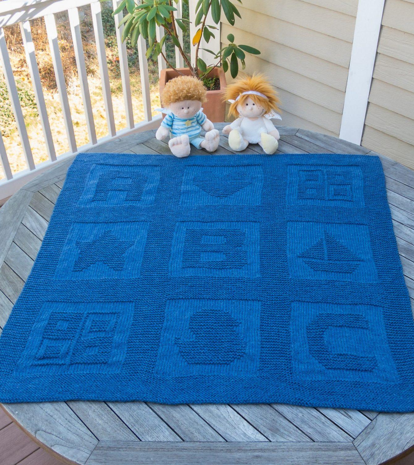 Baby Blanket Knitting Patterns free knitting pattern for abc baby blanket jivgeen