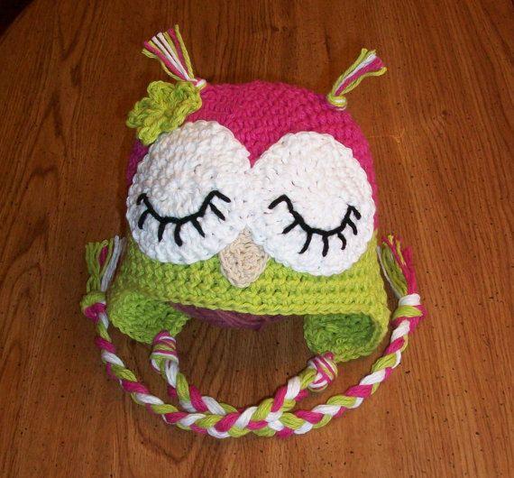 baby crochet owl hat pattern mbsxtle