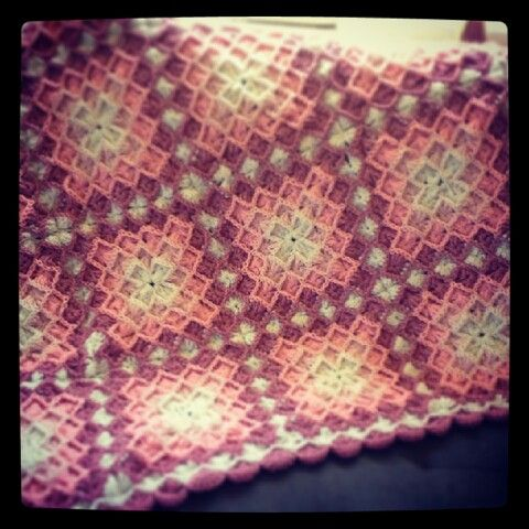 bavarian crochet for baby blanket - (just a picture) i think they did jjnjrhk