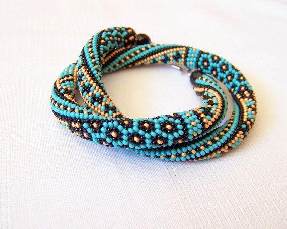bead crochet rope bracelet ideas xwjmvdv