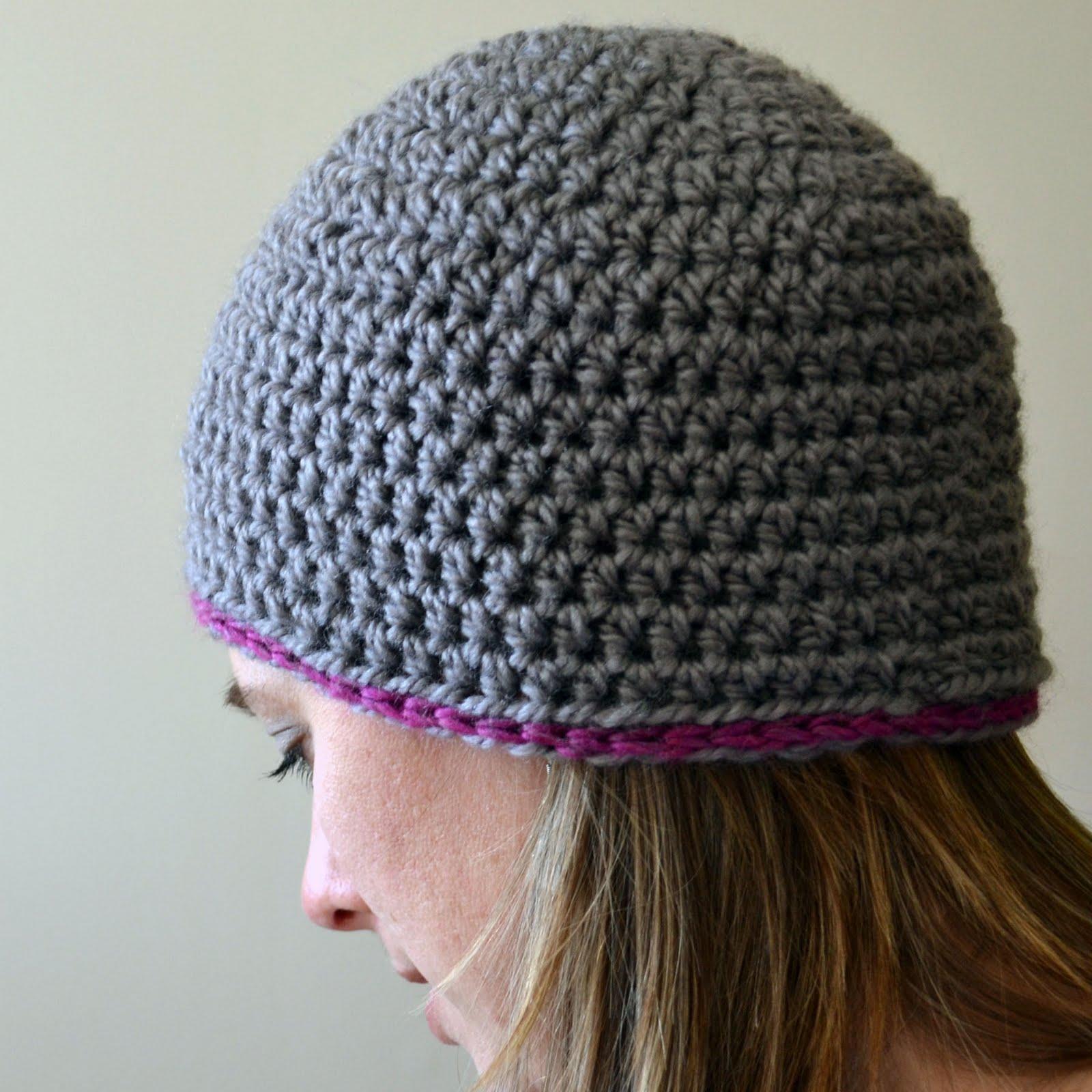 Beanie crochet pattern- Perfect for beginners