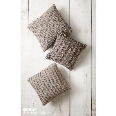 bernat patterns crochet pillow trio ozqeqxc