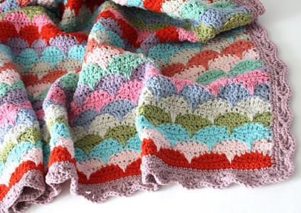 Best Crochet Blanket Patterns clamshell crochet afghan hqjbhyf