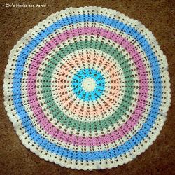 Best Crochet Blanket Patterns ferris wheel baby blanket zdthybb