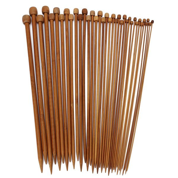 Best Knitting Accessories 36pcs bamboo knitting needles sweater scarf needlework accessories bylflzb
