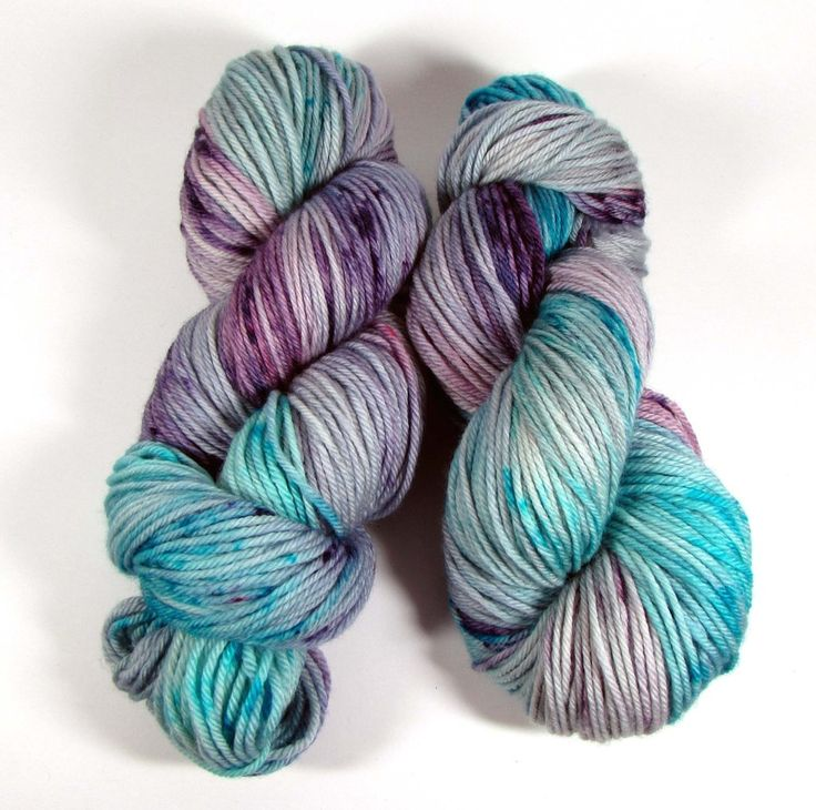 Best Worsted Weight Yarn so dreamy - squish like grape worsted - dyed to order hzdckgn
