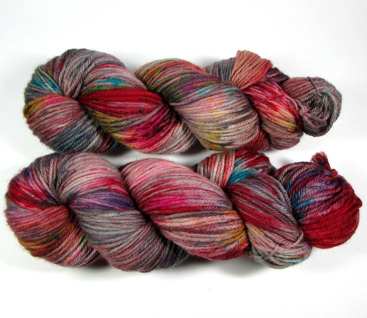 Best Worsted Weight Yarn speckled hand dyed yarn worsted, crazy rainbow colors, bright, variegated,  superwash merino ezxrxwa