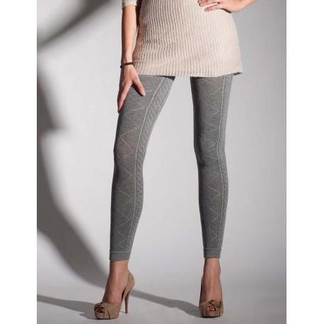 cable knit leggings 2228 by primavera xjikvha