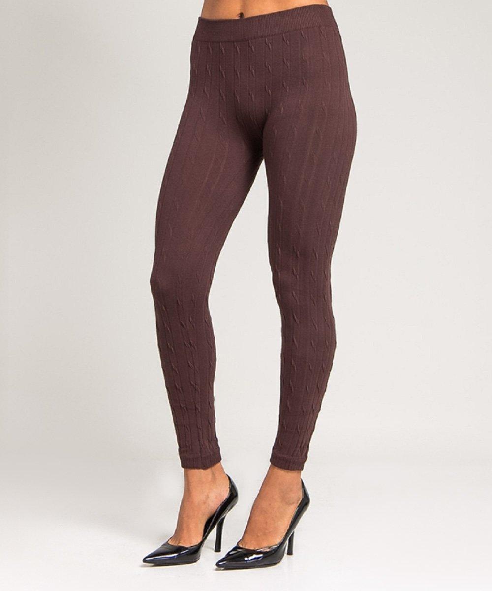 cable knit leggings brown cable-knit leggings ... lmgodur