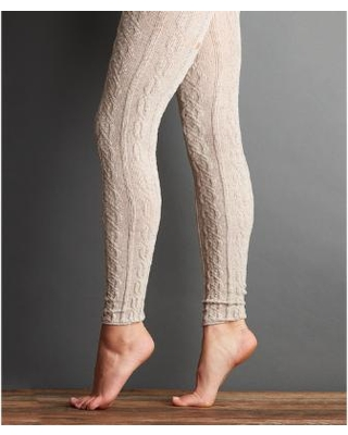 cable knit leggings lemon legwear truffle tweedy cable-knit leggings nrhdncb