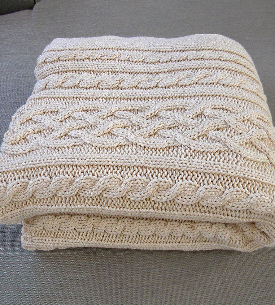 cable knit throw ... aran-cable-knit-throw-blanket-relais-1485975844 ... jmeltfn